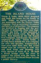 Island House Historical Marker