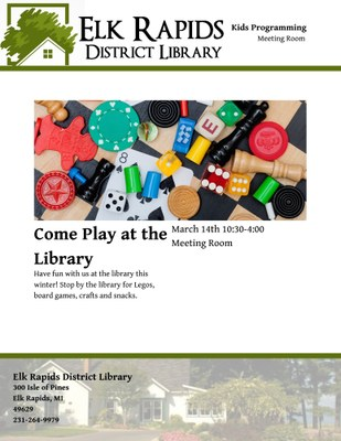 Come Play at the Library!
