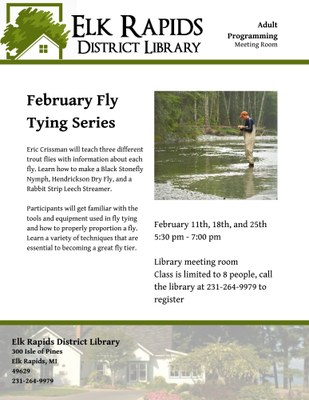 February Fly Tying Series