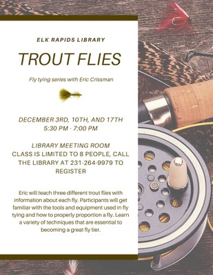 Fly Tying Series with Eric Crissman: Trout Flies