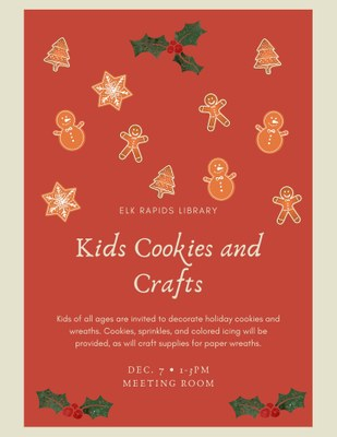 Kids Cookies and Crafts